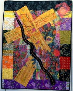 grief and art quilt