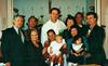 Baptism of John ( godfather John Doran, godmother O'nie O'Nilda Cuñada Aclaro) with Uncle Melvin, Father Steve, Nong Chit, Rosemary Cunada- Escolano, Mom & Mark